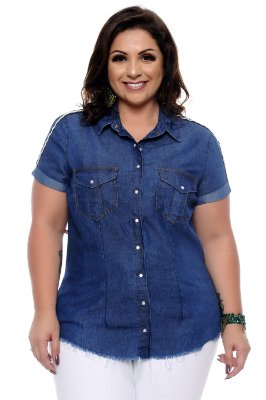 Camisete Plus Size Caliane