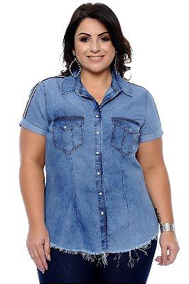 Camisete Jeans Plus Size Bertoni