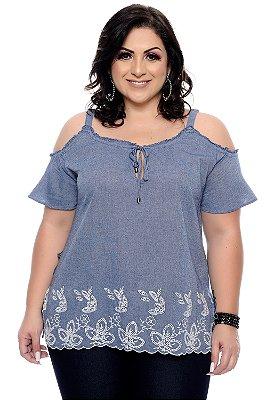 Blusa Plus Size Fanini