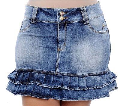 Saia Jeans Plus Size Vanne