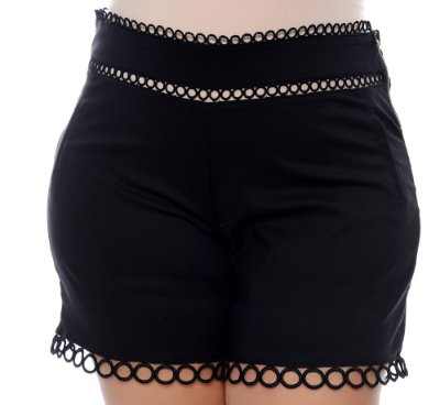 Shorts Plus Size Zulla