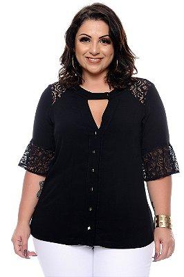 Camisa Plus Size Githana
