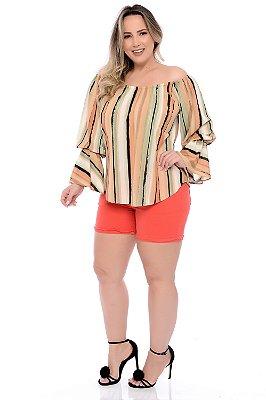Shorts Plus Size Cezini