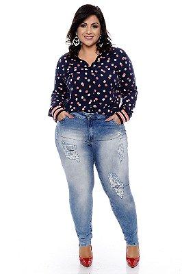 Calça Jeans Plus Size Afrodite