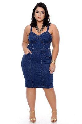 Vestido Jeans Plus Size Eva