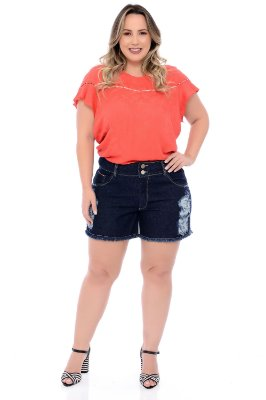 Shorts Jeans Plus Size Adalina