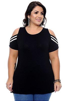 Blusa Plus Size Rosa