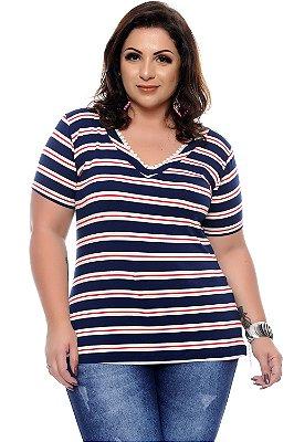 Blusa Plus Size Tacella