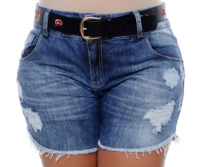 Shorts Jeans Plus Size Dally