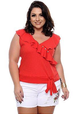 Blusa Plus Size Mikah