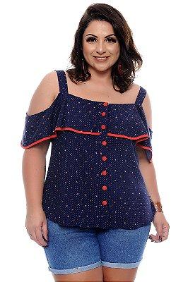 Blusa Plus Size Naheda