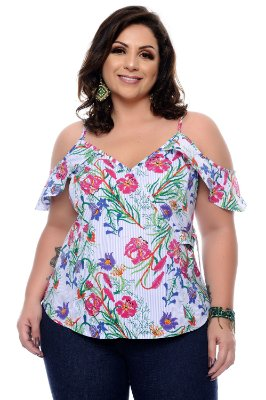 Blusa Plus Size Kelry