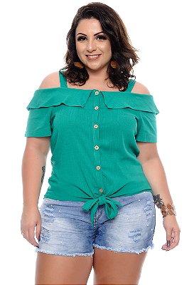 Blusa Plus Size Nuhsia