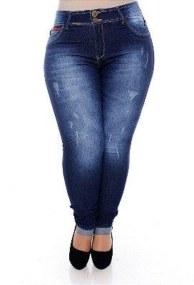 Calça Skinny Jeans Plus Size Geezer