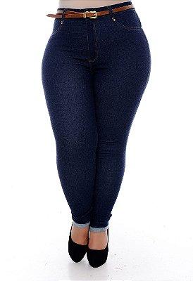 Calça Skinny Jeans Plus Size Ketsiany
