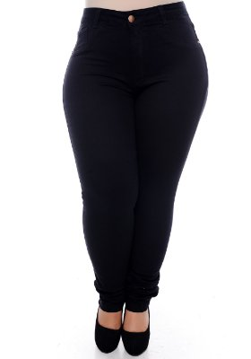 Calça Skinny Plus Size Dyrene