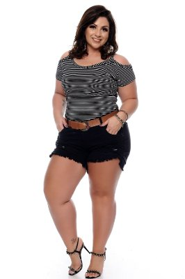 Shorts Plus Size Eline
