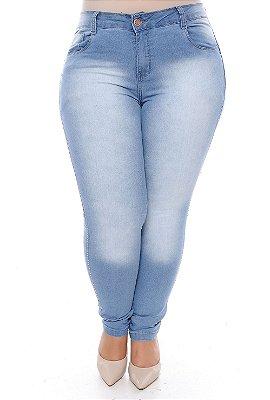 Calça Skinny Jeans Plus Size Hyuga