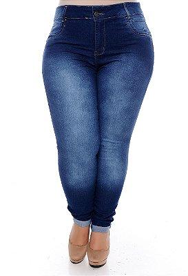Calça Legging Jeans Plus Size Mislaine