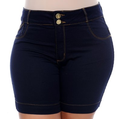 Shorts Jeans Plus Size Kerolin