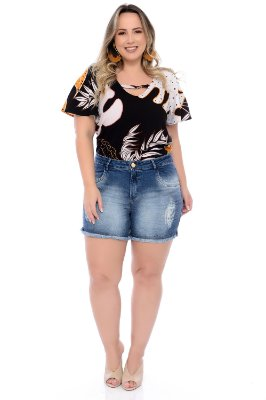 Blusa Plus Size Kamy