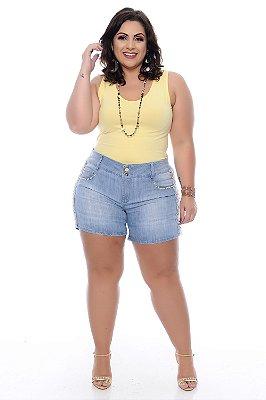 Shorts Jeans Plus Size Byrone