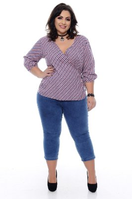 Blusa Plus Size Edinah