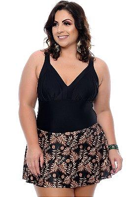 Maiô 2 em 1 Plus Size Tonga