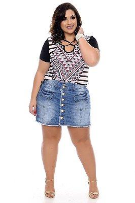 Blusa Plus Size Giatti