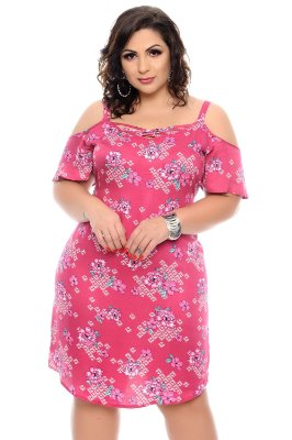 Vestido Plus Size Leicy