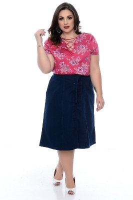Blusa Plus Size Wyliana