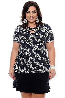 Blusa Plus Size Jussea