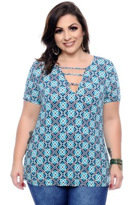 Blusa Plus Size Theona