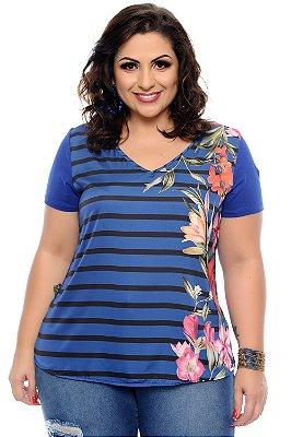 Blusa Plus Size Elainy