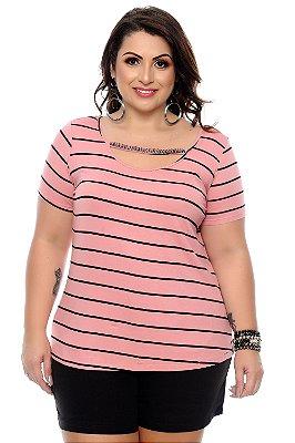 Blusa Plus Size Dhaura