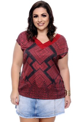 Blusa Plus Size Serly