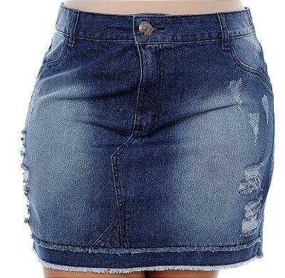 Saia Jeans Plus Size Zylma
