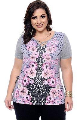 Blusa Plus Size Ketily