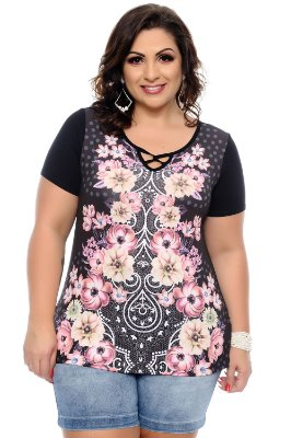Blusa Plus Size Cleren