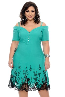 Vestido Plus Size Eslleya