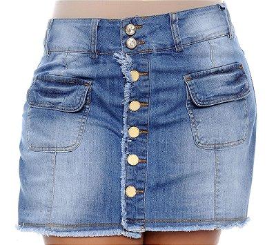 Shorts Saia Jeans Plus Size Uchena
