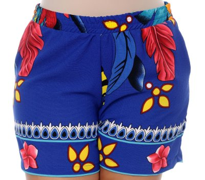 Shorts Crepe Plus Size Nacyh