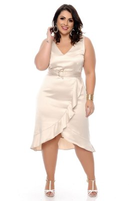 Vestido Plus Size Armelyn