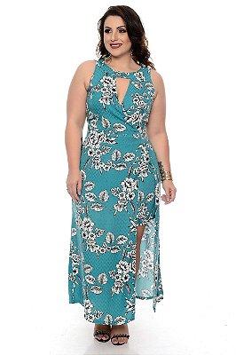 Vestido Macaquinho Plus Size Kcia