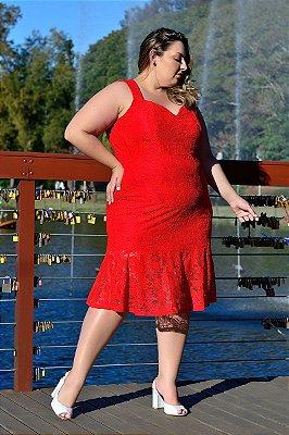 Vestido Plus Size Alecy