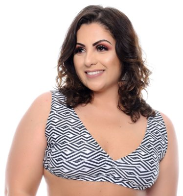 Top Avulso Plus Size Ilhota