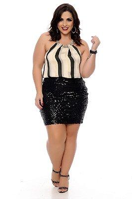 Blusa Plus Size Abna