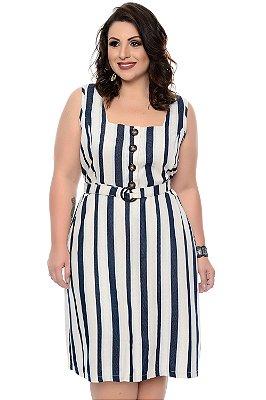 Vestido Linho Plus Size Zorah