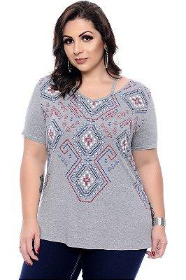 Blusa Plus Size Kelda