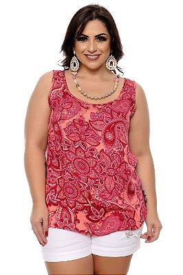 Blusa Plus Size Bazani